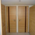 CPL dekorfóliás beltéri ajtó utólagszerelhető tok boritással intarziás díszcsikkal.