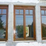 Borovi fenyő fa nyílászárók, duplex álosztással, autómata AERECO szellőzővel.