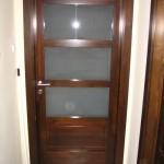 Borovi fenyő beltéri ajtó savmart üveggel 32