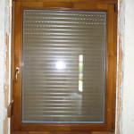 Háromrétegű tömbösített hossztoldott borovi fenyő fa ablak