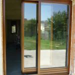 Háromréteg ragasztott hossztoldott borovi fenyő bukó-toló erkély ajtó 05