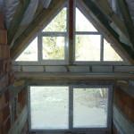 Műanyag ablakok alakos kivitelben, méretre gyártva.