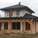 Fa ablak ipari felületkezeléssel, vakolható tokos antracit kombi redőnnyel, kiszállítva, beépítve!