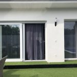 Emelő-toló nyílászáró erkélky ajtó, 3 rétegű üvegezéssel.
