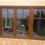 Tok osztott fa ablak, ragasztott duplex álosztással, kiszállítva beépítve.