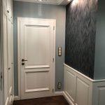 MDF beltéri ajtó egyedi méretre, és formára készített, utólagszerelhető tok borítással, kiszállítva beépítve!